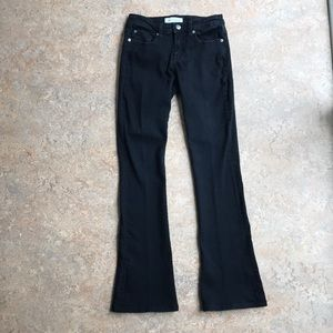 Henry & Belle Signature Micro Flare Black Jeans 25